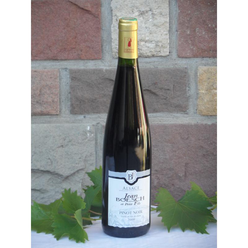 Pinot Noir vieilli en fûts de chêne